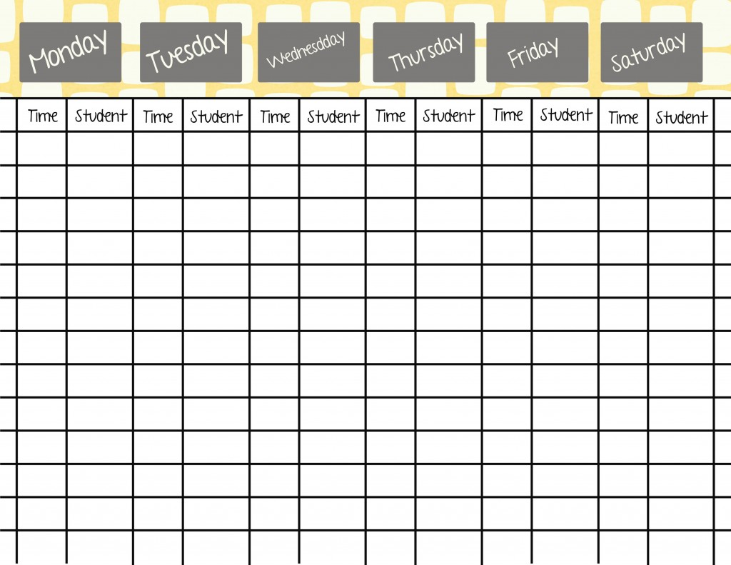 Scheduling Students- 8 tips for making it easier