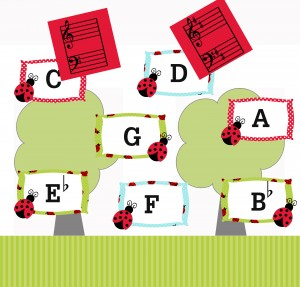 Ladybug Key Signature Game